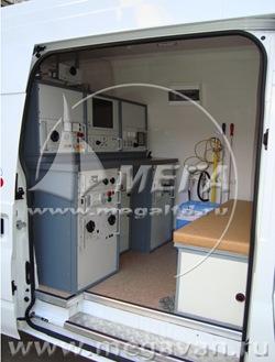 Передвижная лаборатория для диагностики электротехнического оборудования и кабельных линий