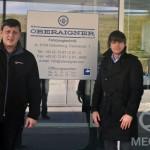 Сотрудники нашей компании посетили завод Oberaigner в Австрии